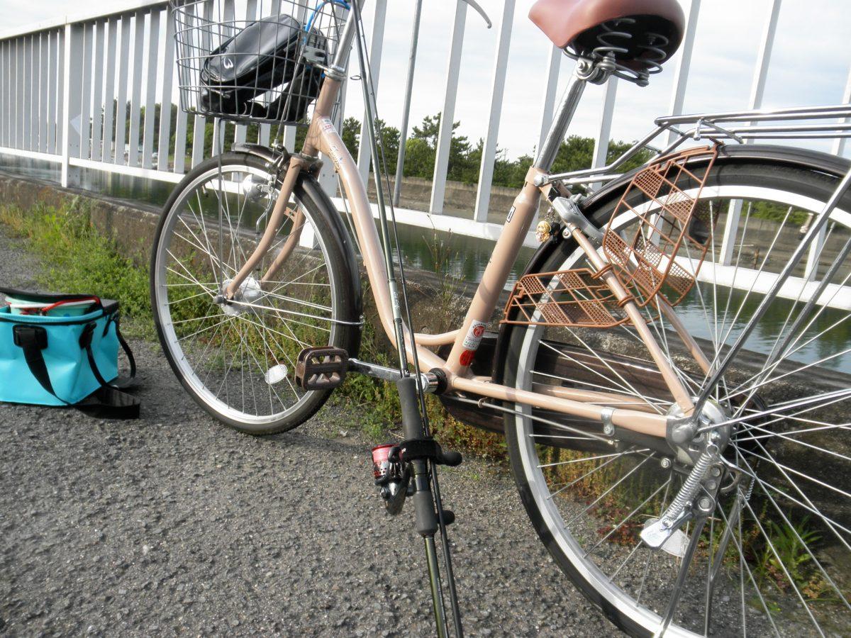 自転車で釣りに行こう♪
